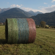 Agri Novatex UK | Youniverse bale on the field